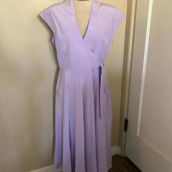 Chadwicks Dresses Semi Formal Dress Lavender 100 Silk Sz 10 Poshmark